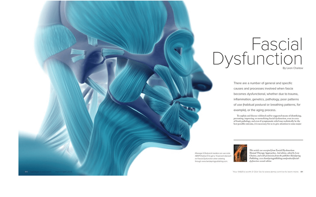 Fascial Dysfunction 2e excerpt & feature